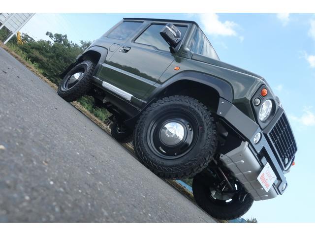 XC 4WD DAMD littleDエアロKIT リフトアップ 新品16インチ 新品ジオランダー レーンアシスト ダウンヒルアシスト LEDライト シートヒーター クルーズコントロール届出済未使用車(5枚目)