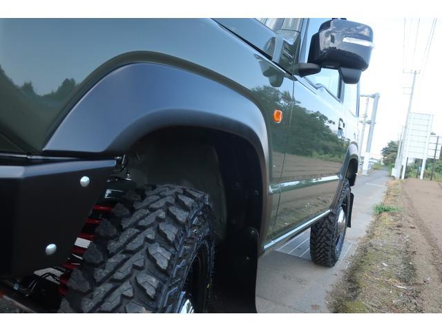 XC 4WD DAMD littleDエアロKIT リフトアップ 新品16インチ 新品ジオランダー レーンアシスト ダウンヒルアシスト LEDライト シートヒーター クルーズコントロール届出済未使用車(56枚目)
