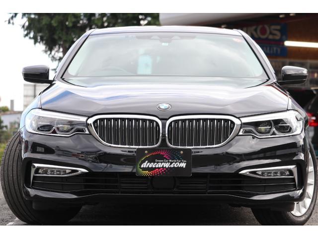 BMWの伝統あるアッパーミドルレンジ、第7世代目となる『5シリーズ』!!クリーン・ディーゼル・エンジン搭載の523d!!キドニーグリルやフロントバンパーがクローム仕立てになるラグジュアリー!!