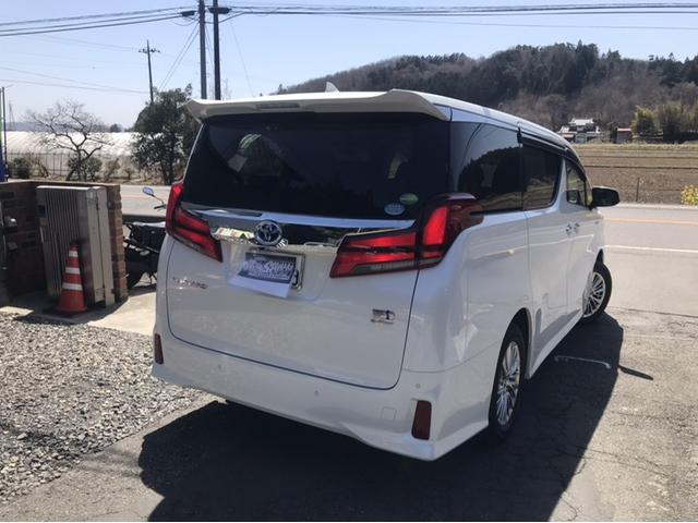 「トヨタ」「アルファードハイブリッド」「ミニバン・ワンボックス」「栃木県」の中古車2