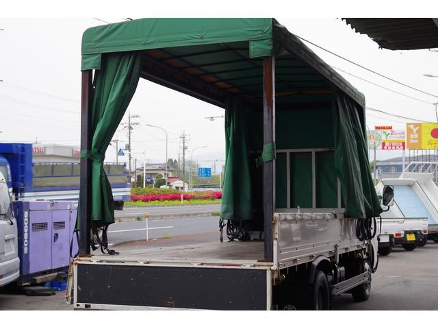日野 デュトロ ロング 4WD 積載2t 幌車 NOx・PM適合