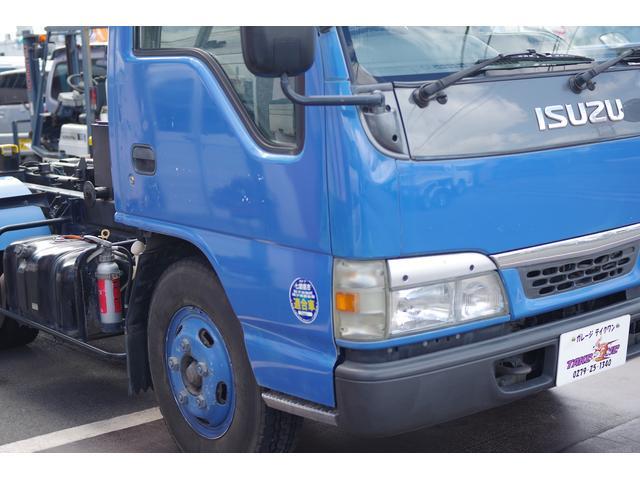 いすゞ エルフトラック 脱着装置付コンテナ専用車 フジマイティー製 4ナンバー 2t