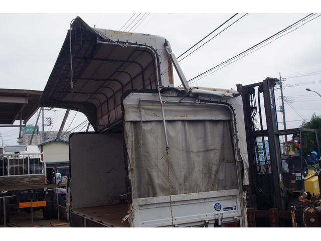 いすゞ エルフトラック 幌ウイング 積載2t