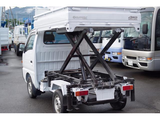 スズキ キャリイトラック リフトアップダンプ 4WD
