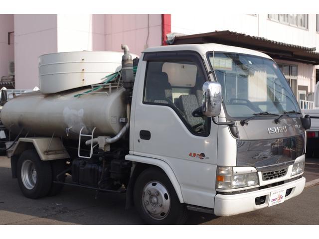 いすゞ エルフトラック バキュームカー 2.7t 東急車輌 糞尿車
