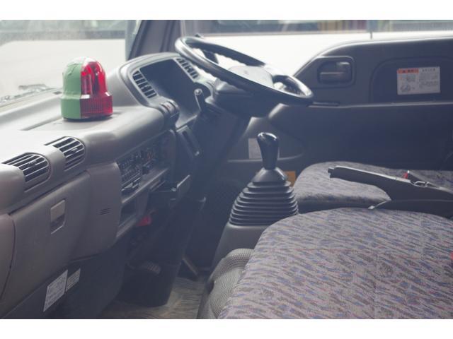 いすゞ エルフトラック ヒアブクレーン付きステンレス深ダンプ 積載3t
