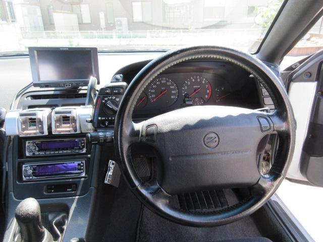 日産 フェアレディZ 300ZXツインターボ2by2・Tバールーフ記録簿9枚 5速