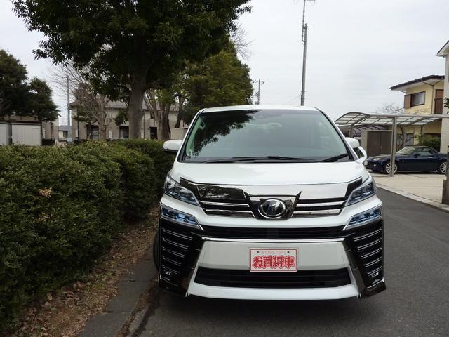 トヨタ ヴェルファイア 2.5Z G新型自動ブレーキ  2眼LEDライト