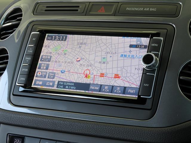 Volkswagen純正ナビゲージョンシステム「714SDCW」自然な対話で目的地を設定できる音声認識技術に対応したAVナビゲーションシステム。