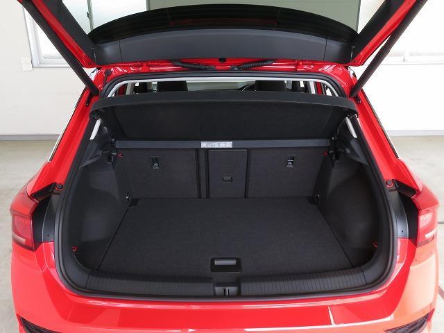 ラゲージスペースは455Lの大容量を確保。後席を全て倒すと1,290Lまで拡大!!