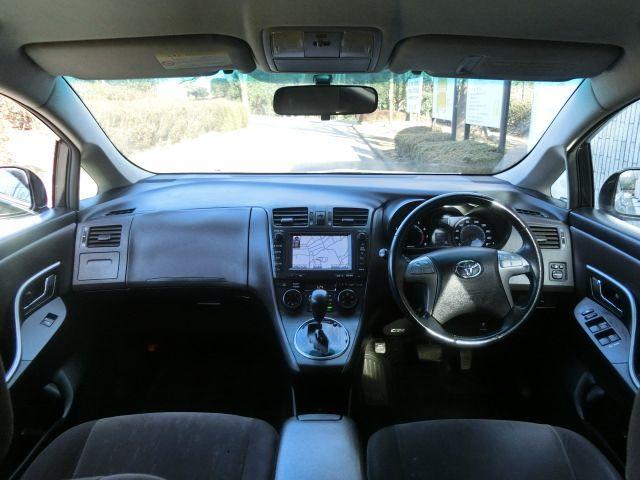 トヨタ マークXジオ 240F ワンオーナー バックモニター 純正HDDナビ