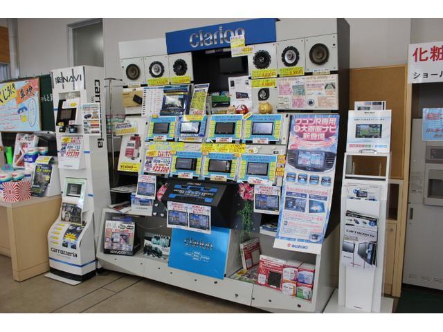 ナビ・ETC・ドライブレコーダー展示中