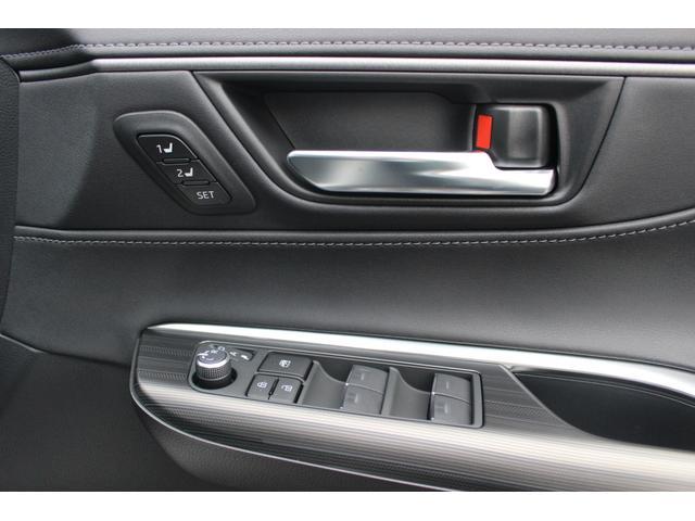 運転席ドライビングポジションメモリー機能付き