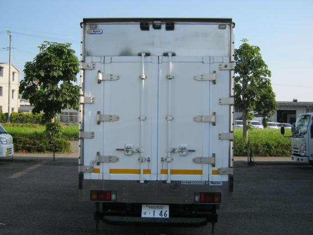低温冷凍車2室2エバ 移動間仕切・スタンバイ付(3枚目)