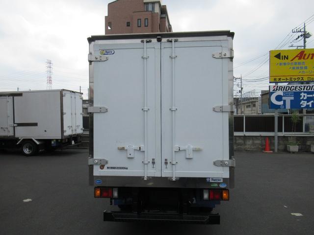 低温冷凍車両サイドスライドドア移動間仕切・スタンバイ(3枚目)