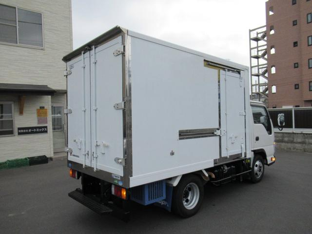 低温冷凍車両サイドスライドドア移動間仕切・スタンバイ(8枚目)