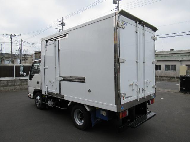 低温冷凍車両サイドスライドドア移動間仕切・スタンバイ(9枚目)