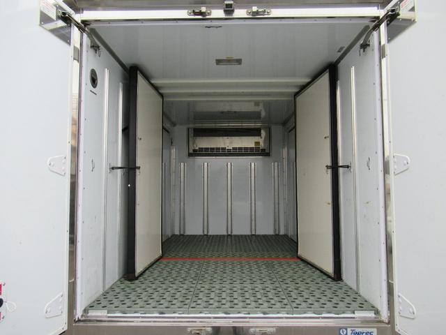 低温冷凍車両サイドスライドドア移動間仕切・スタンバイ(18枚目)