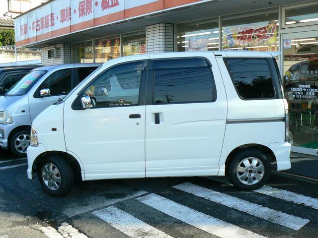 ダイハツ アトレーワゴン カスタムターボ Gセレクション 4WD ETC 純正アルミ