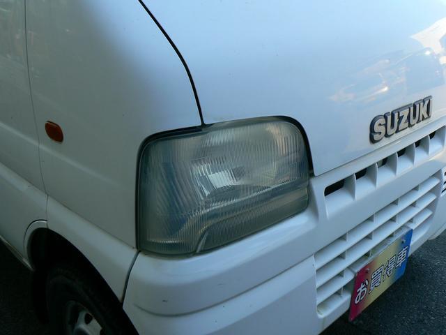 スズキ キャリイトラック KC4WD エアコン パワステ CDMD