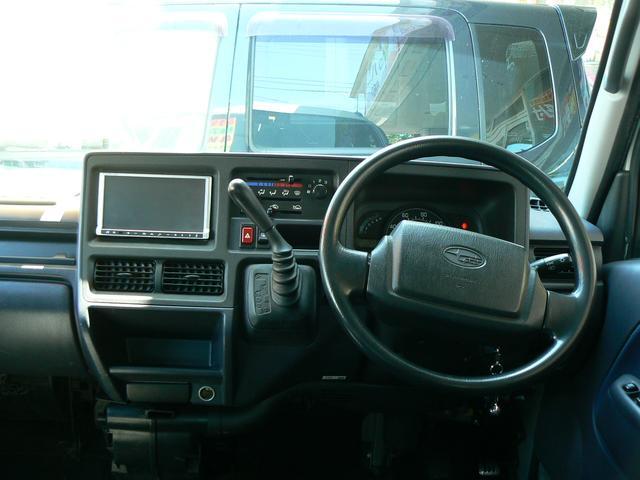 スバル サンバーバン ディアス 4WD 社外ナビ地デジ バックカメラ キーレス