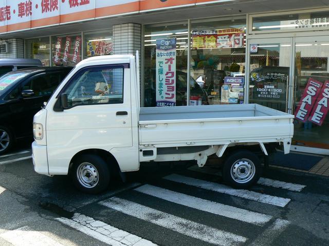 ダイハツ ハイゼットトラック スペシャル4WD エアコン CD 三方開