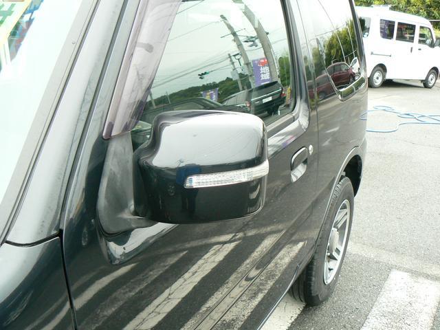 ワイルドウインド 4WDターボ レザーシート シートヒーター 純正アルミ キーレス エアバッグ ABS タイミングチェーン(28枚目)
