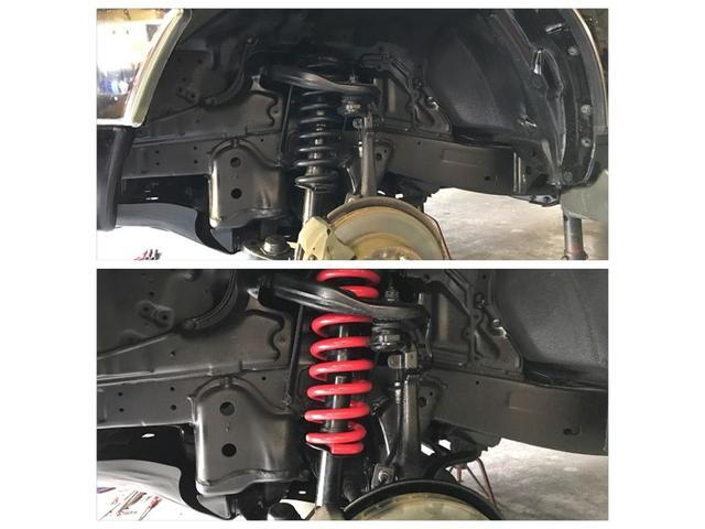 ワイルドウインド 4WDターボ レザーシート シートヒーター 純正アルミ キーレス エアバッグ ABS タイミングチェーン(43枚目)