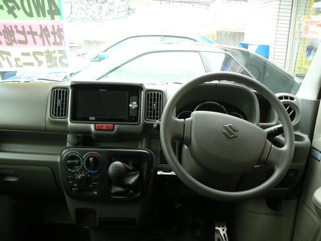 ジョインターボ 4WD フル装備 社外ナビ地デジ レザーシートカバー ETC キーレス エアバッグ ABS タイミングチェーン 5速マニュアル(5枚目)