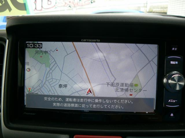 ジョインターボ 4WD フル装備 社外ナビ地デジ レザーシートカバー ETC キーレス エアバッグ ABS タイミングチェーン 5速マニュアル(8枚目)
