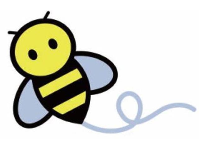 ハニービーの元祖ロゴです!