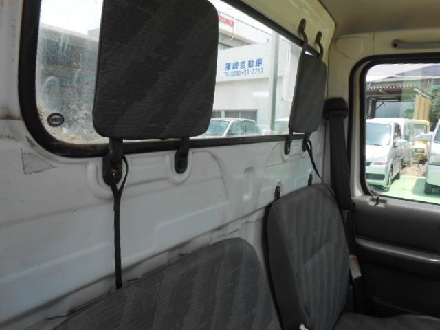 スズキ キャリイトラック パワステ エアコン ゲートプロテクターモール 4WD 三方開