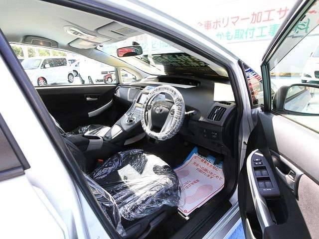 トヨタ プリウス S ナビ付 ディスチャージライト ポリマー施工済 新車保証付