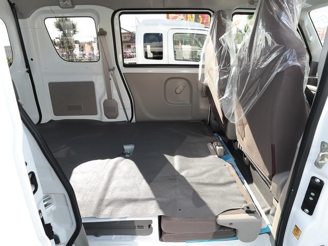 DX ハイルーフ プライバシーガラス キーレス 2nd発進機能 新車メーカー保証5年 10万km付 ポリマー施工済 ABS エアコン パワステ AM/FMラジオ セキュリティアラーム 走行2037km(52枚目)
