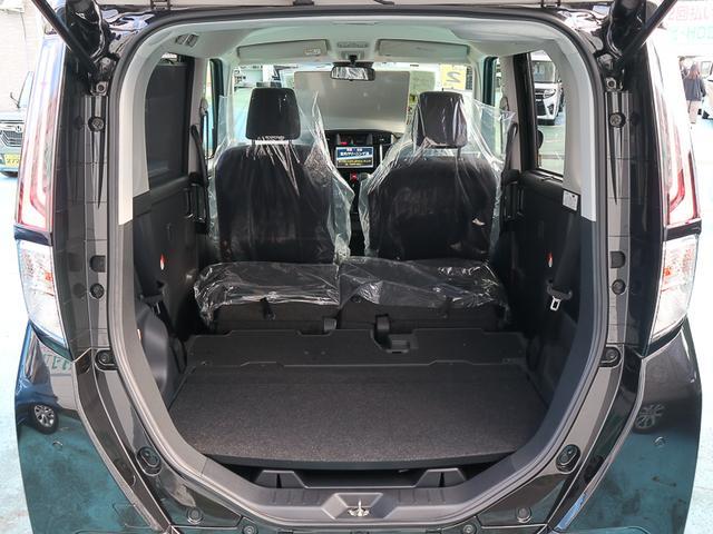 カスタムG ターボ 走行6452KM 現行モデル 前方後方衝突軽減ブレーキ メーカー保証5年 10万km付 ポリマーコーティング施工済 両側パワースライドドア LEDヘッドランプ&フォグランプ バックカメラ スマートキー(18枚目)