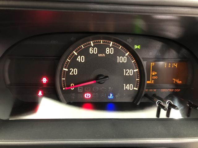 DX SA3 4WD 5速マニュアル LEDライト付 スマアシ3 コーナーセンサー ご発進抑制制御機能 先行車発進お知らせ機能 オートハイビーム LEDライト キーレスエントリー オーバーヘッドシェルフ(21枚目)