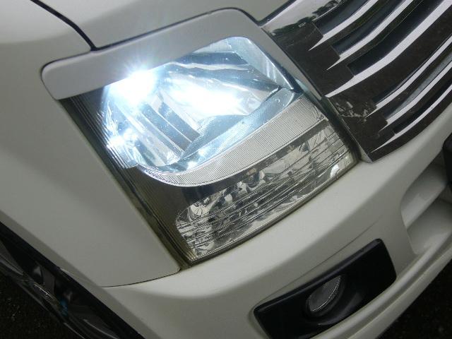スズキ ワゴンR FX-Sリミテッド HID LEDテール 黒シートカバー
