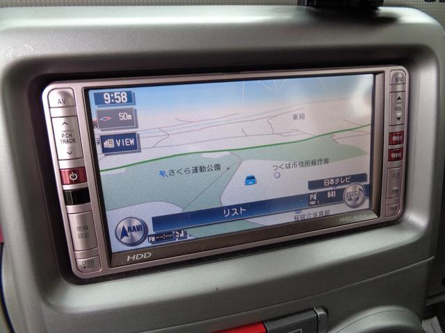 HDDナビゲーションです♪地デジでTVも視聴可能ですよ♪