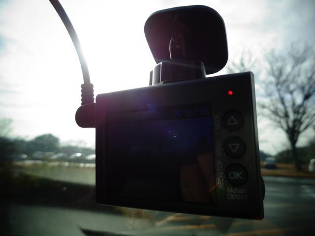 ドライブレコーダーも装着されております。