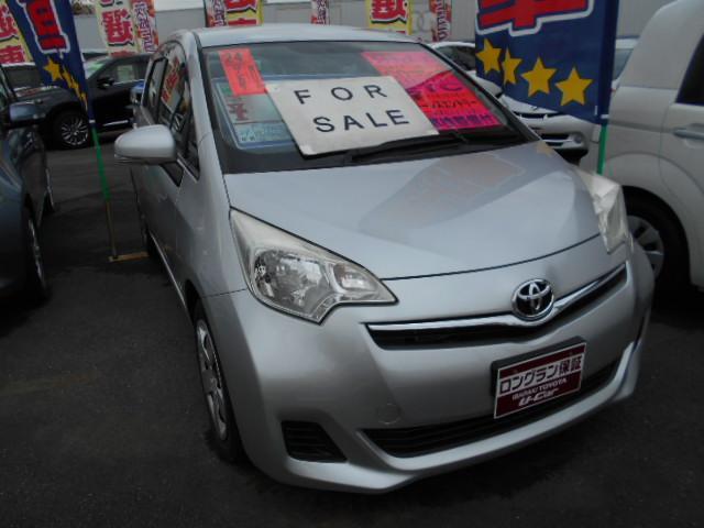 トヨタ ラクティス X CD ETC