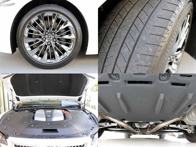 LS500h Iパッケージ ワンオーナー OP20インチAW レクサスセーフティ+A ブラインドスポットモニター カラーヘッドアップディスプレイ 黒本革シート(19枚目)