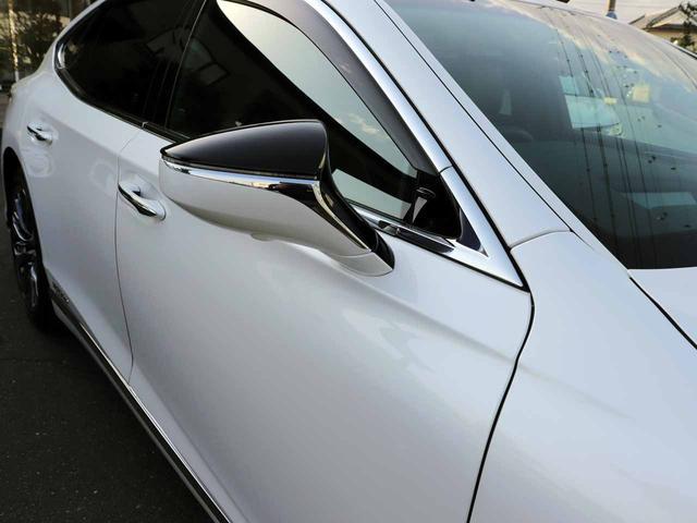 LS500h Iパッケージ ワンオーナー OP20インチAW レクサスセーフティ+A ブラインドスポットモニター カラーヘッドアップディスプレイ 黒本革シート(27枚目)