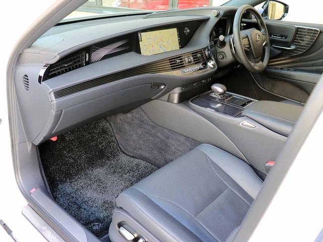LS500h Iパッケージ ワンオーナー OP20インチAW レクサスセーフティ+A ブラインドスポットモニター カラーヘッドアップディスプレイ 黒本革シート(41枚目)