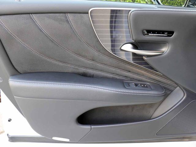 LS500h Iパッケージ ワンオーナー OP20インチAW レクサスセーフティ+A ブラインドスポットモニター カラーヘッドアップディスプレイ 黒本革シート(44枚目)