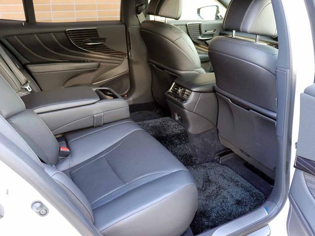 LS500h Iパッケージ ワンオーナー OP20インチAW レクサスセーフティ+A ブラインドスポットモニター カラーヘッドアップディスプレイ 黒本革シート(45枚目)