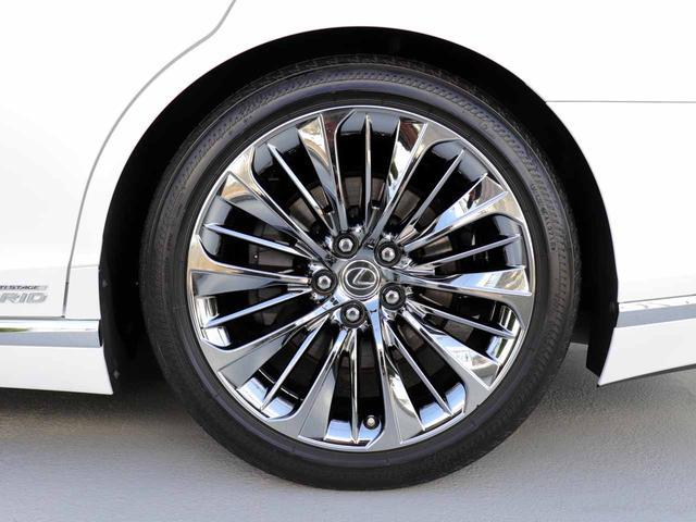 LS500h Iパッケージ ワンオーナー OP20インチAW レクサスセーフティ+A ブラインドスポットモニター カラーヘッドアップディスプレイ 黒本革シート(52枚目)