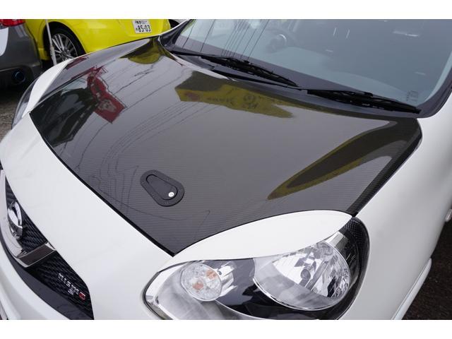 ニスモ S 2年間走行無制限保障 ボディコート施工済 カーボン調ボンネット 社外モモステアリング モモシフトノブ 追加メーター エンケイホワイトアルミ(21枚目)