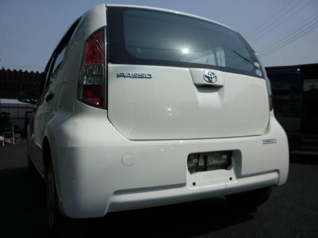 トヨタ パッソ X Vパッケージ ETC