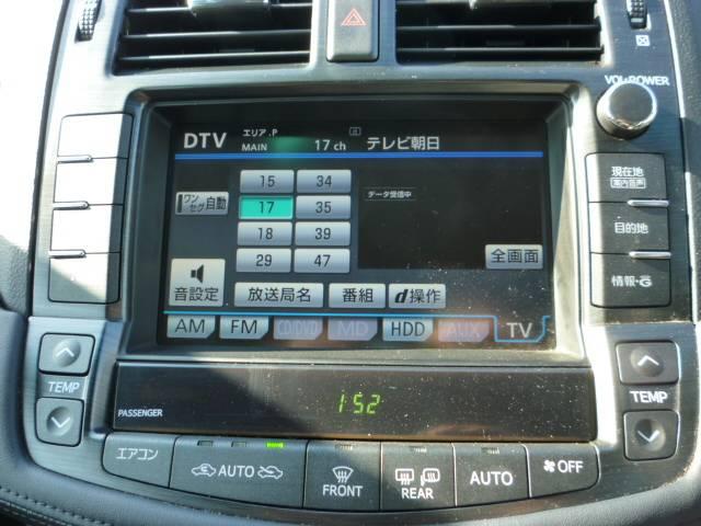 純正HDDナビ 地デジ バックモニター DVD CD 縦列ガイド サイドモニター