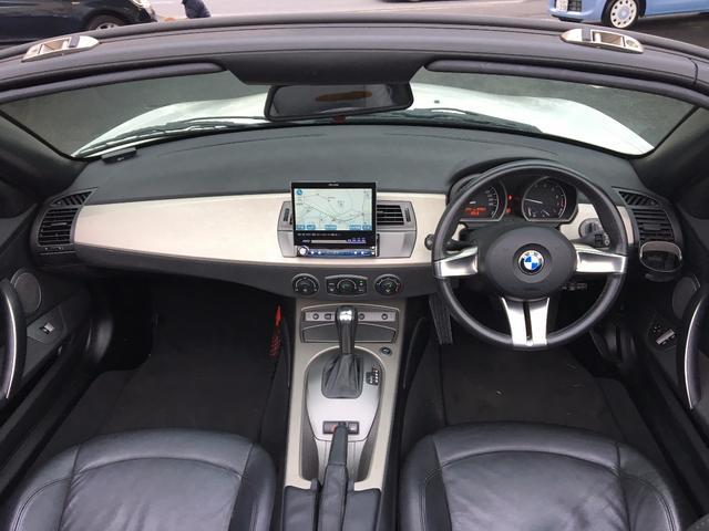 BMW BMW Z4 3.0i HDDナビ ディスチャージ ETC DVD再生